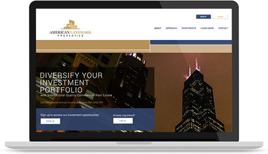 Login to your commercial real estate investment account